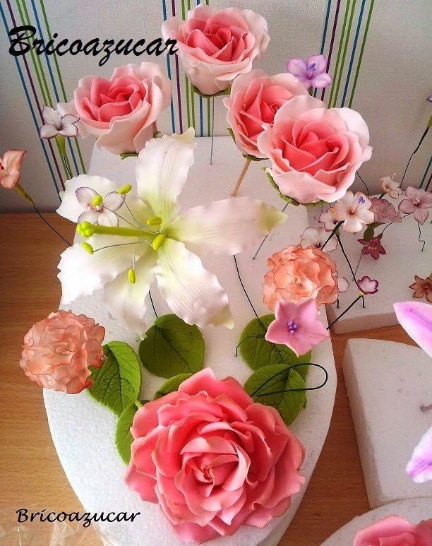 Curso de Flores en Pasta de Azúcar