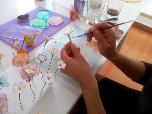 Creación de flores